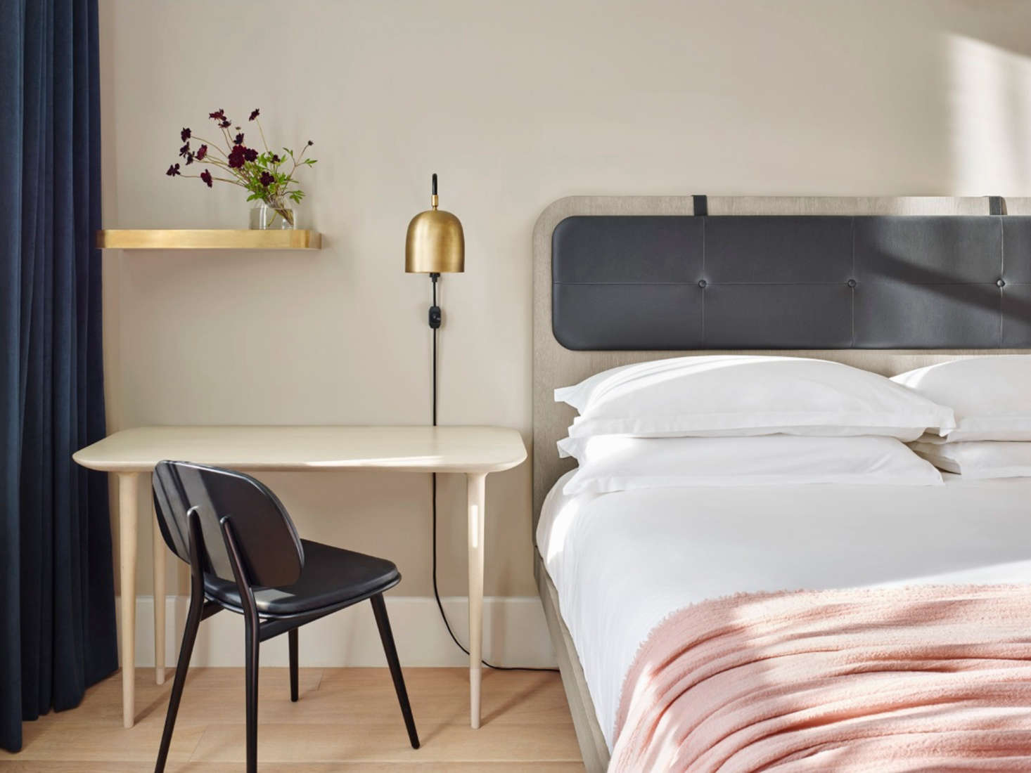 Steal This Look: A Scandi Bedroom in a SoHo Hotel
