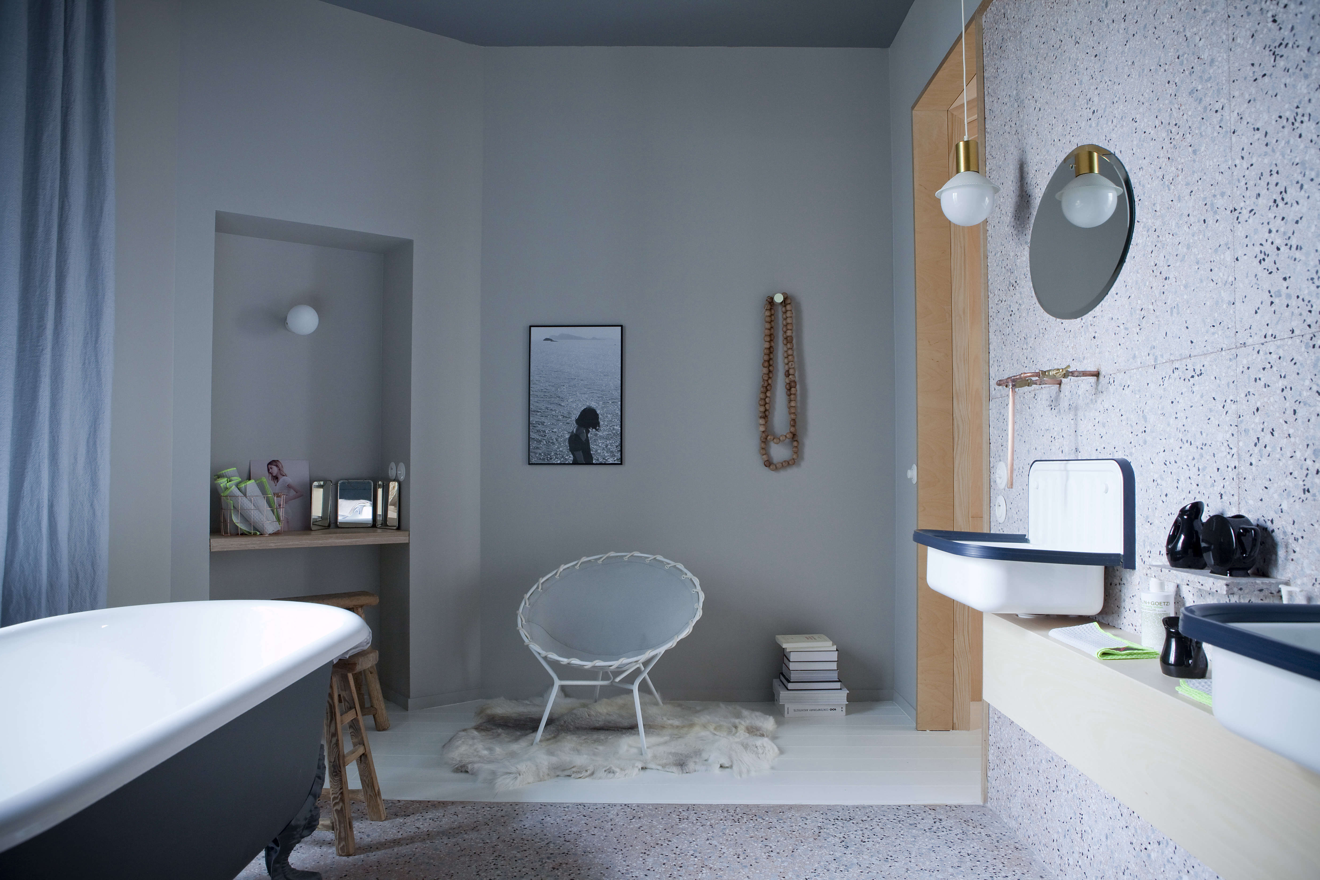 Chez Marie Sixtine : Chez marie sixtine the chicest new guest pad in paris remodelista