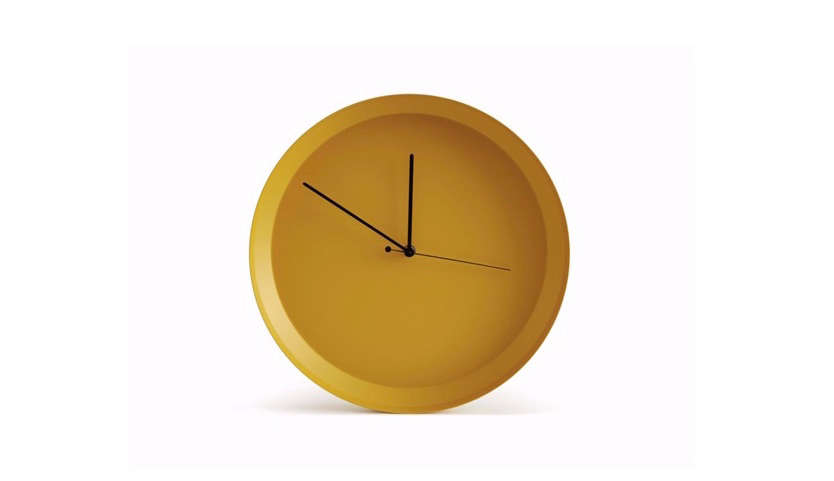 Colorful Modern Wall Clocks Remodelista 12
