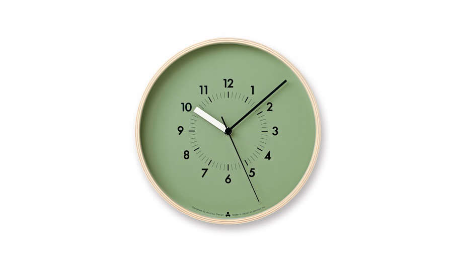 Colorful Modern Wall Clocks Remodelista 2