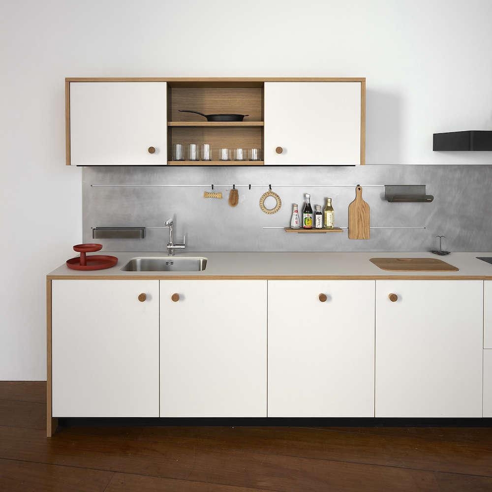 Elegant Jasper Morrison Schiffini Kitchen Remodelista 3