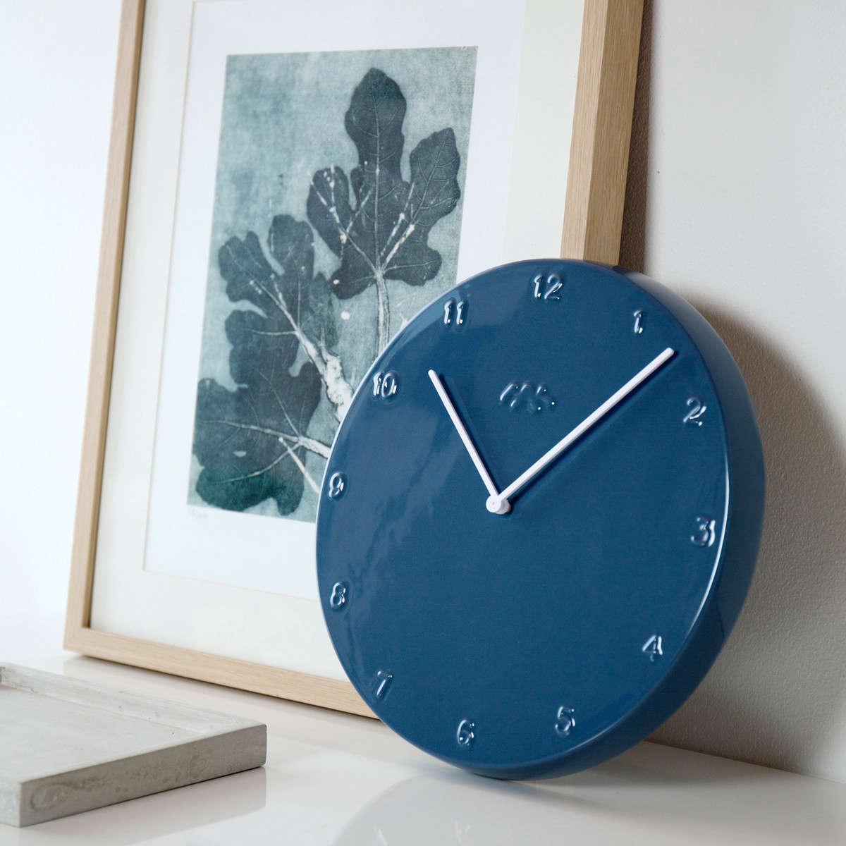 Trend Alert 11 Favorite Wall Clocks Color Edition Remodelista