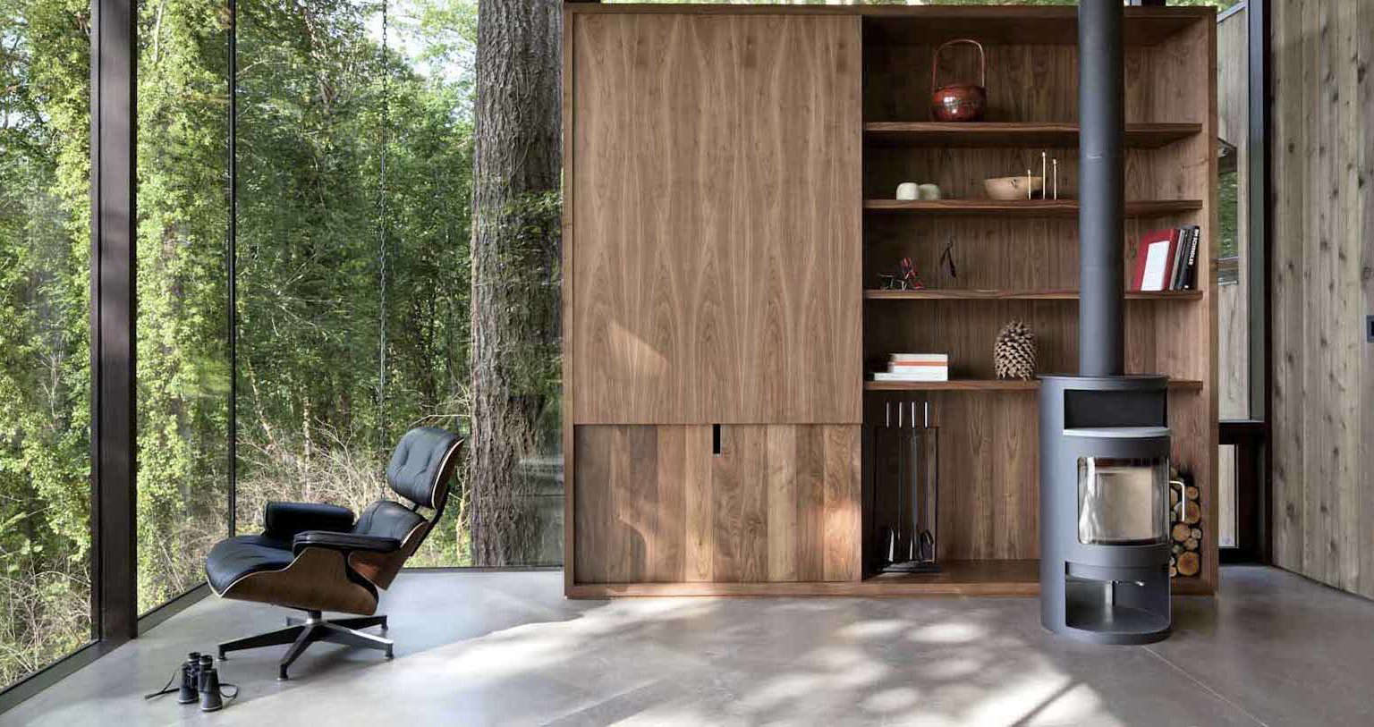 A Puget Sound Cabin That Rests Lightly on the Landscape