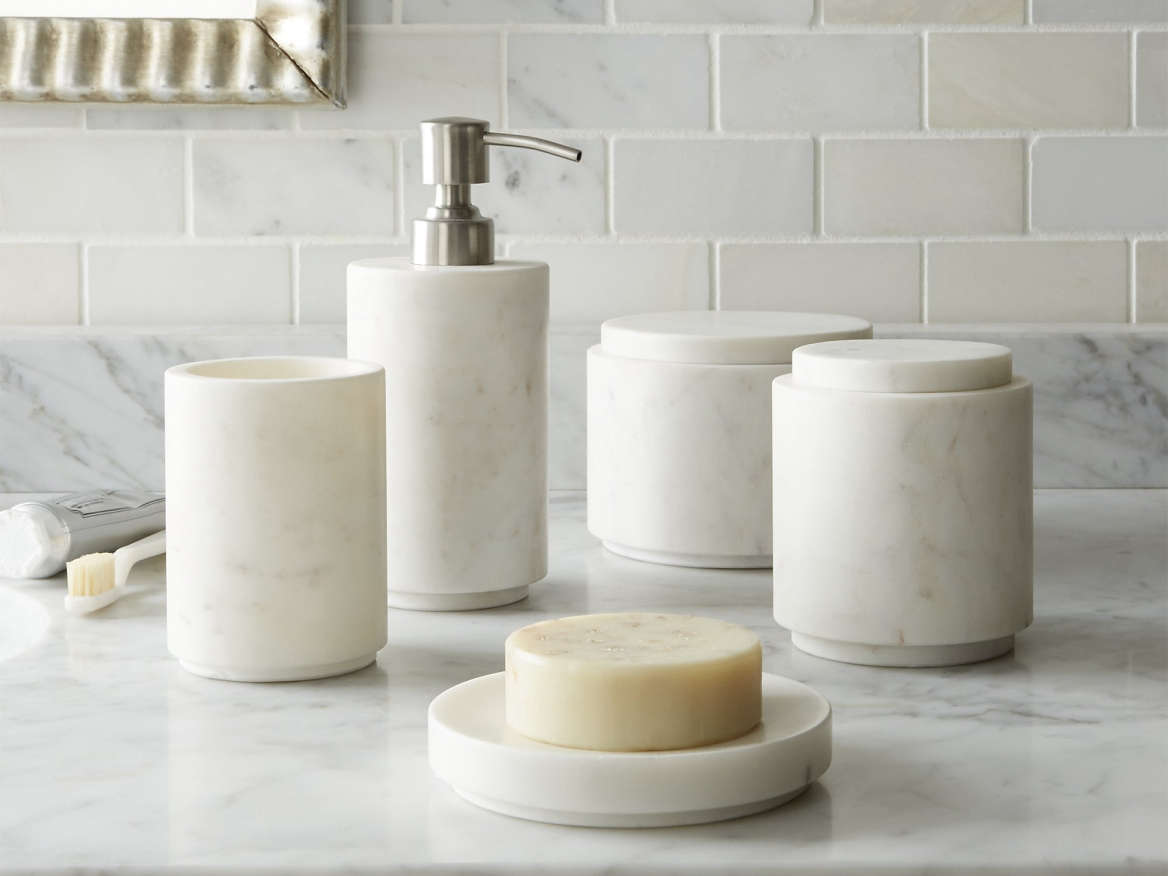 Bath Accessories Curated Collection From Remodelista - Beekman home bathroom accessories for bathroom decor ideas
