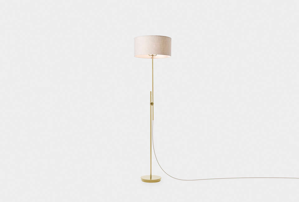 Steal this look a scandi bedroom in a soho hotel for Chevron shelf floor lamp