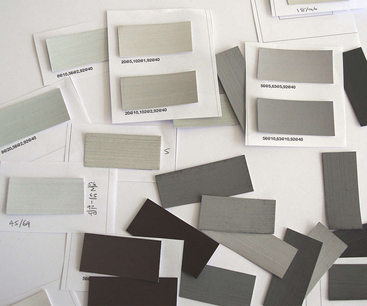 A sampling of premixed colors available through Australian company Bauwerk  who sell chalky dd9f24fc9