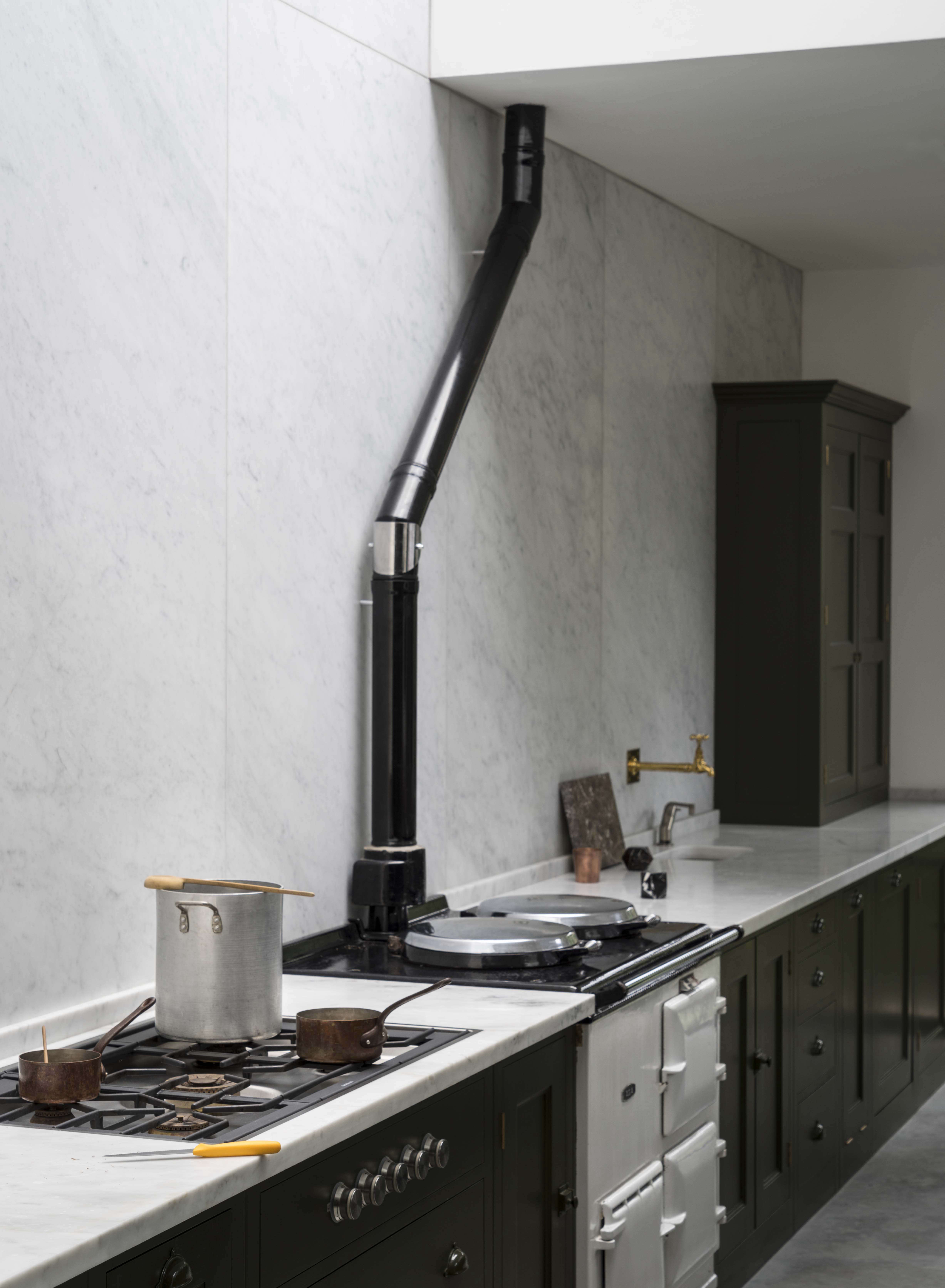 kitchen design stores. Steal This Look  A Subtly Glamorous Kitchen in North London