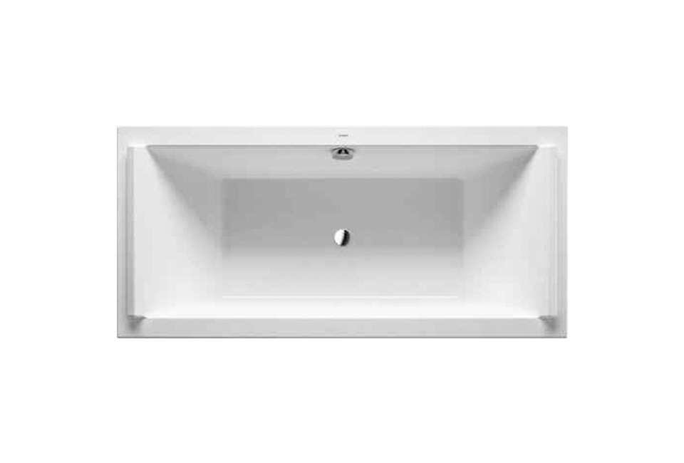 Duravit White Starck New 74-3/4 in Drop In Acrylic Air Tub