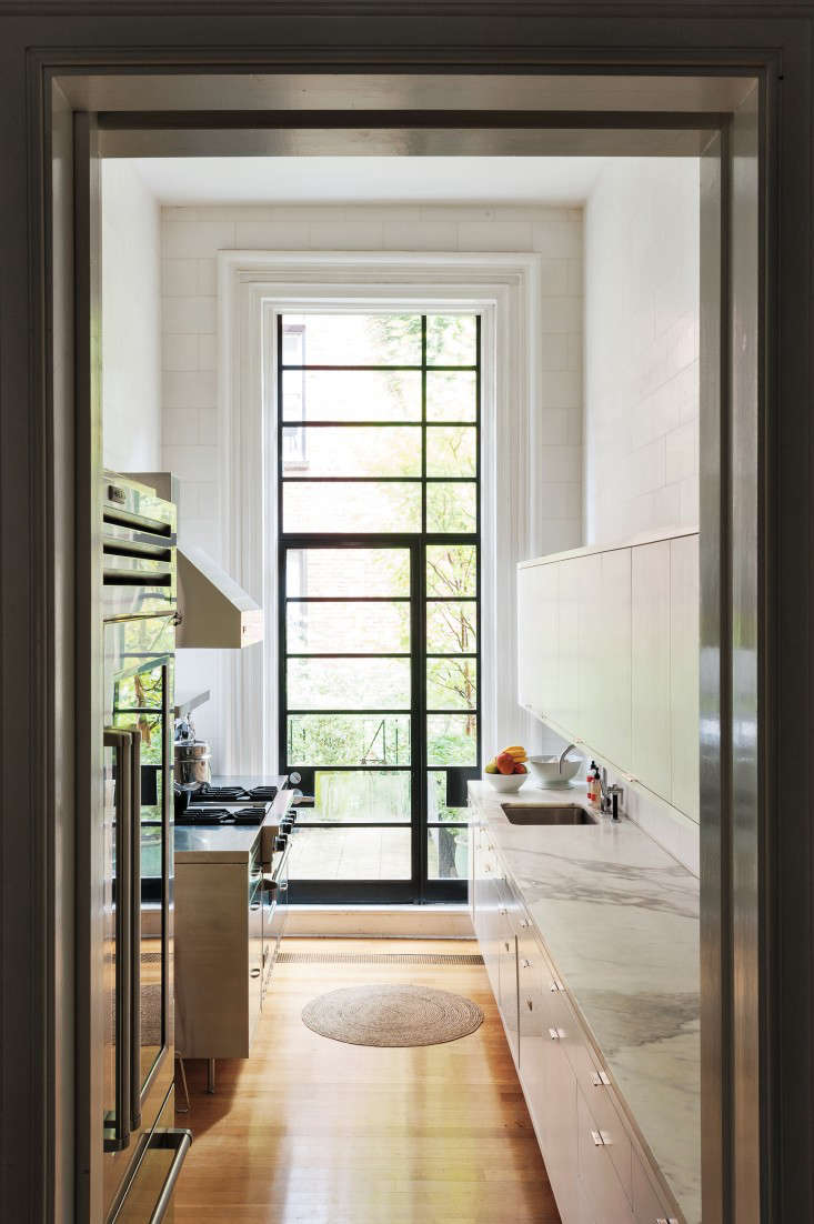 steel frame doors. A Steel Frame Door Brings Light Into Remodelista Co-founder Francesca Connolly\u0027s Brooklyn Heights Kitchen Doors U