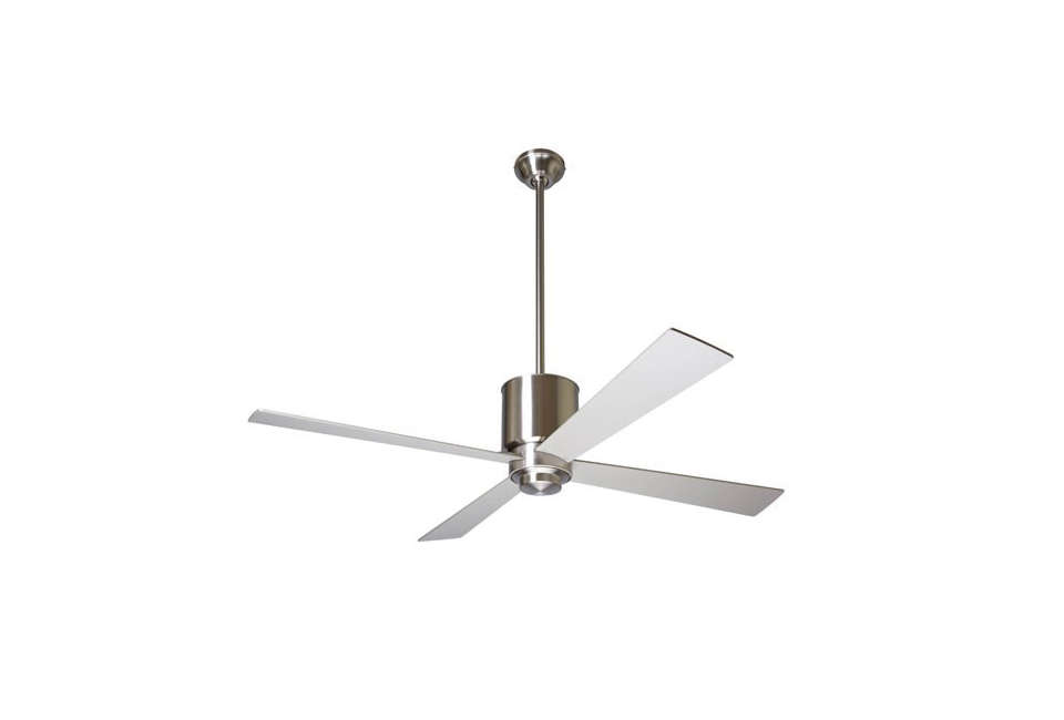 10 easy pieces ceiling fans remodelista the lapa ceiling fan designed by ron rezek comes in three body finishes aloadofball Images