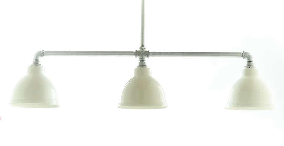 Above A Custom Swing Arm Wall Light