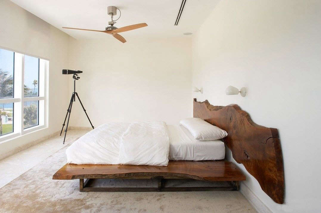 ceiling fans for bedrooms. This Miami Beach bedroom designed by Magdalena Keck  a member of our Architect Designer 10 Easy Pieces Ceiling Fans Remodelista