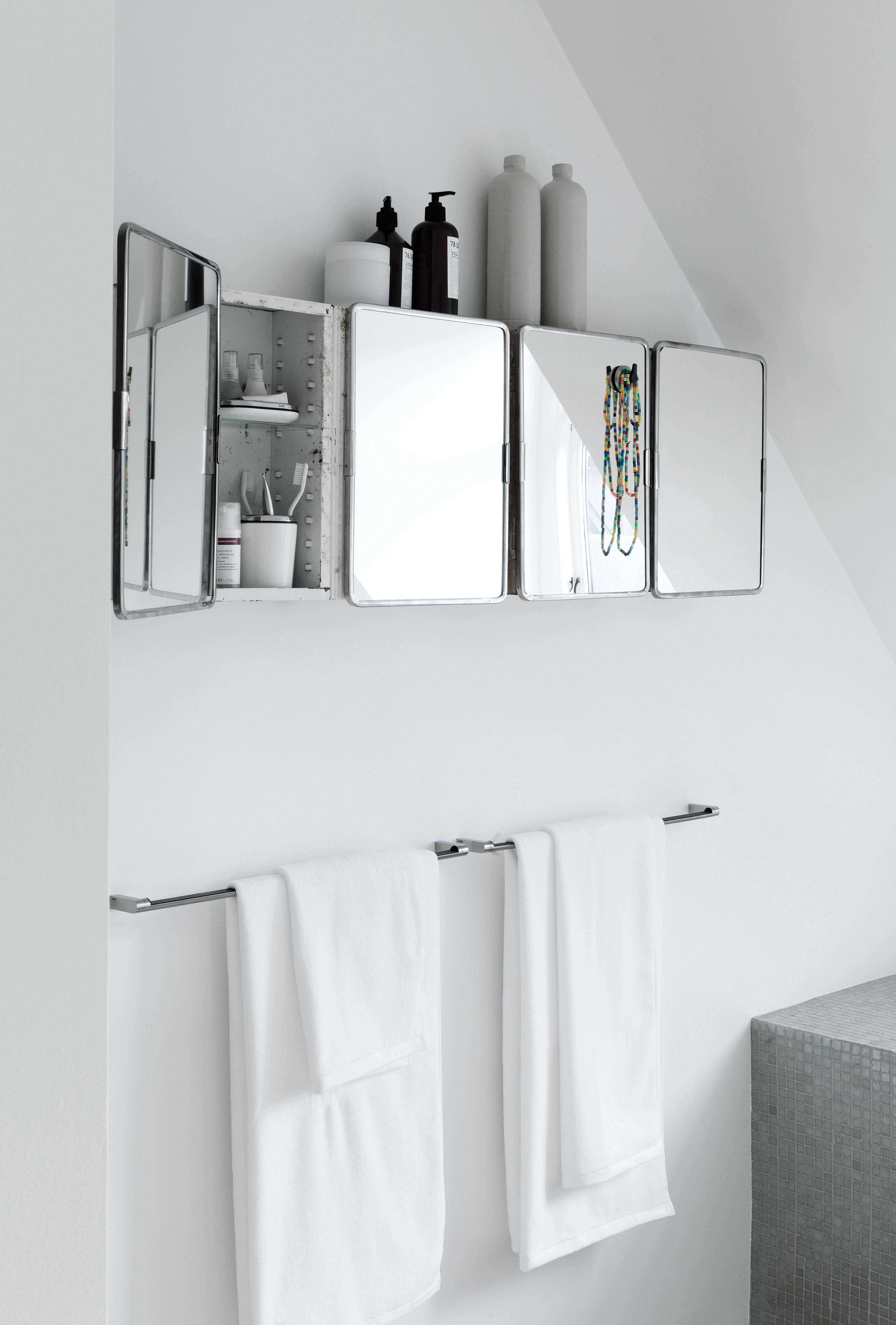 Inspirational Above Four medicine cabinets create both design interest and needed storage Photograph courtesy of Vipp