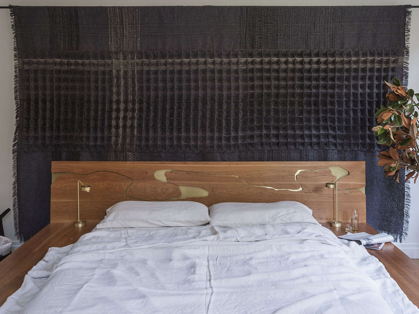 Asher Israel bed frame in an apartment designed by Workstead, Matthew Williams photo | Remodeista