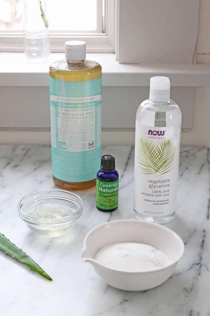 How To Make Natural Homemade Liquid Soap