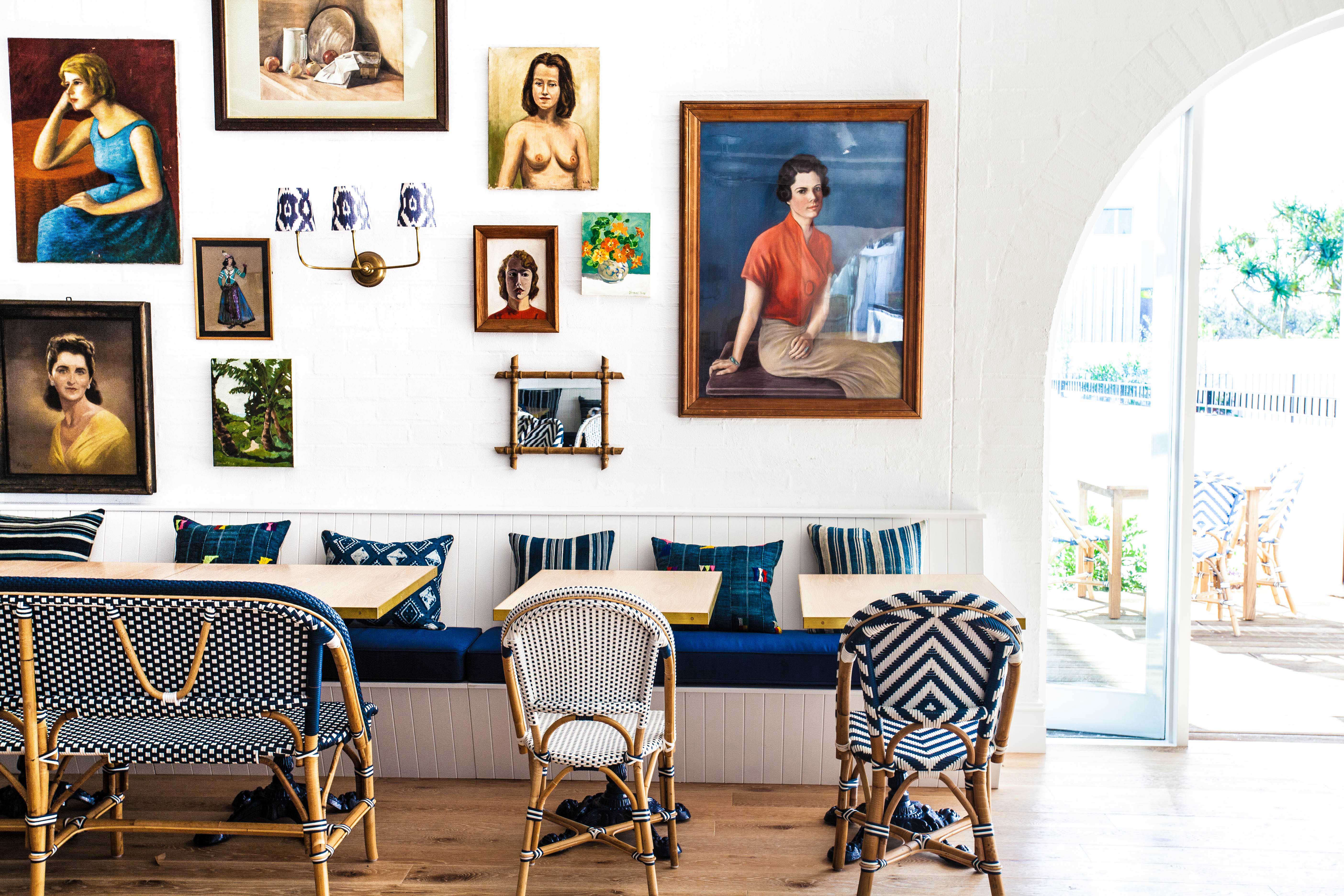 Above  Kerridge s airy interiors then received the Anna Spiro treatment   Halycon s quirky patchwork of art and antiques came together easily  As an  offshoot. Halcyon House  Playing with Pattern  Aussie Edition   Remodelista