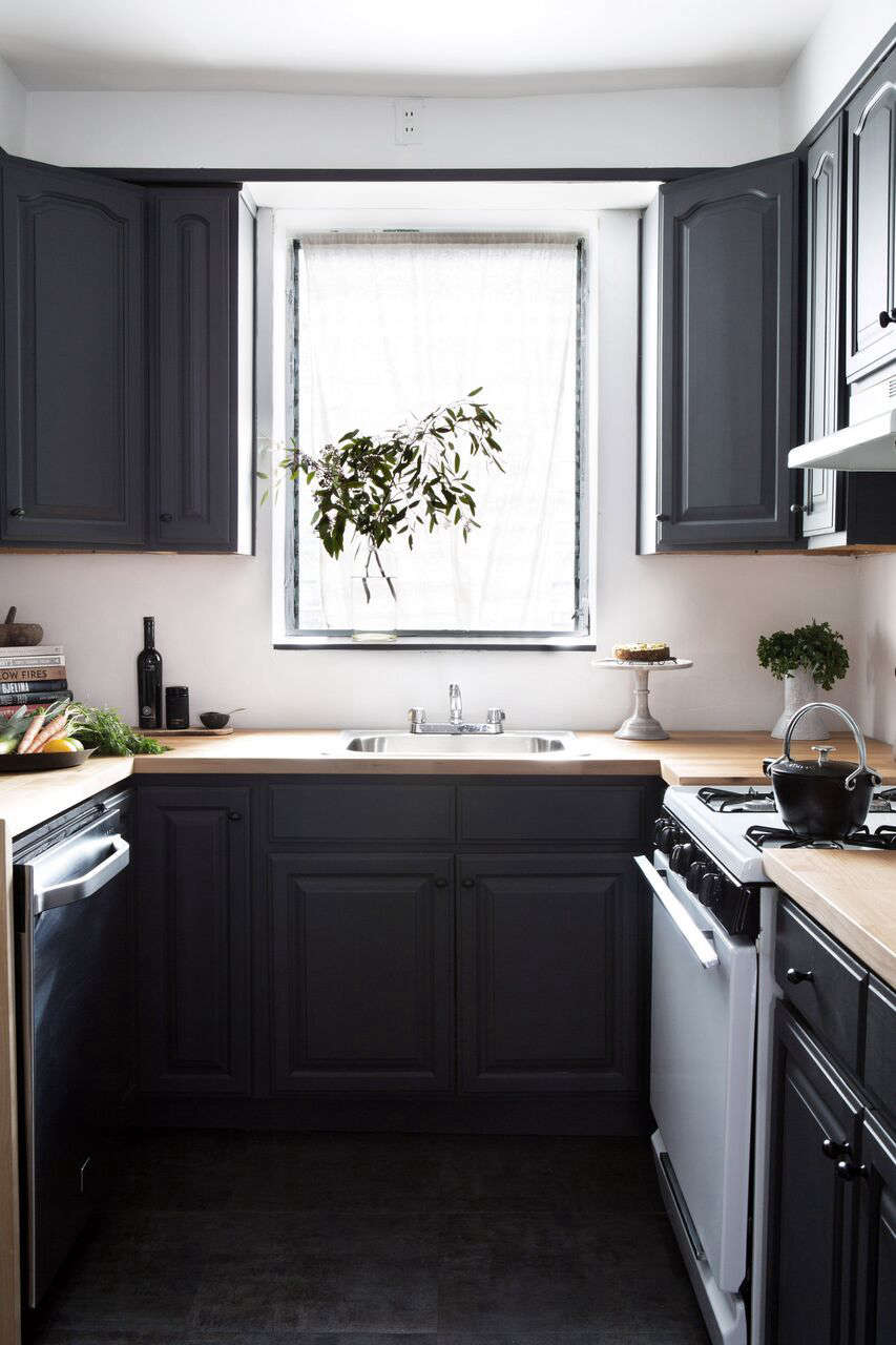 kitchen of the week a low cost before after kitchen in brooklyn athena calderone kitchen remodel 1