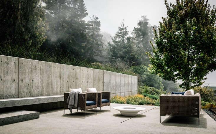 Best big sur cliffside garden foueron view concrete patio