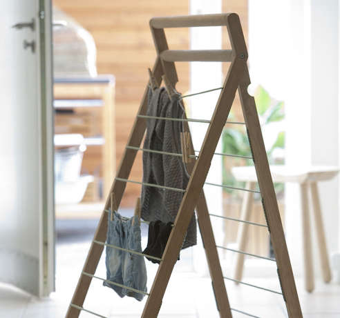 Skagerak S Dryp Clothes Drying Rack Oak
