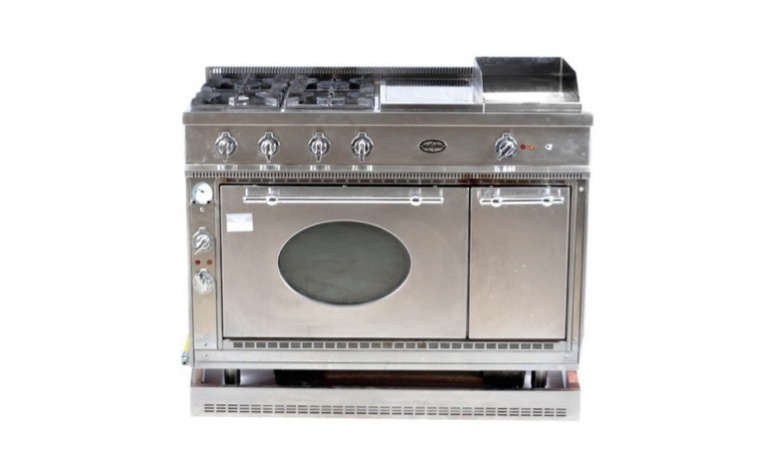 Used Appliances, High End Appliances, Used Kitchen Appliances. Commercial  Grade Kitchen Range Used
