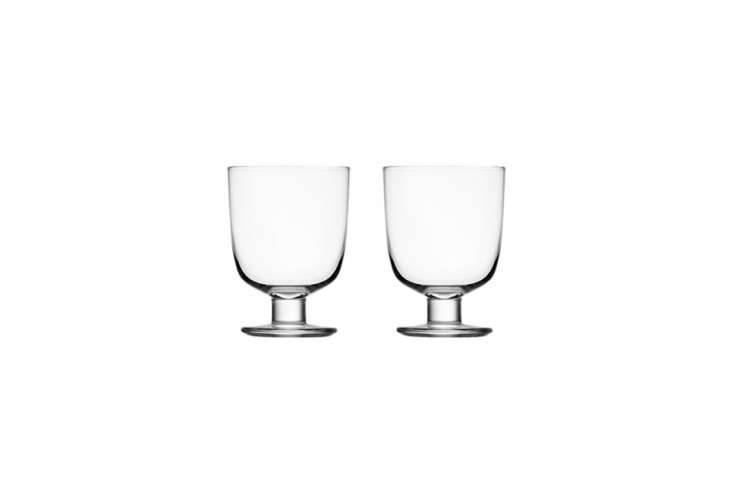 10 Easy Pieces: The New Short Wine Glass - Remodelista