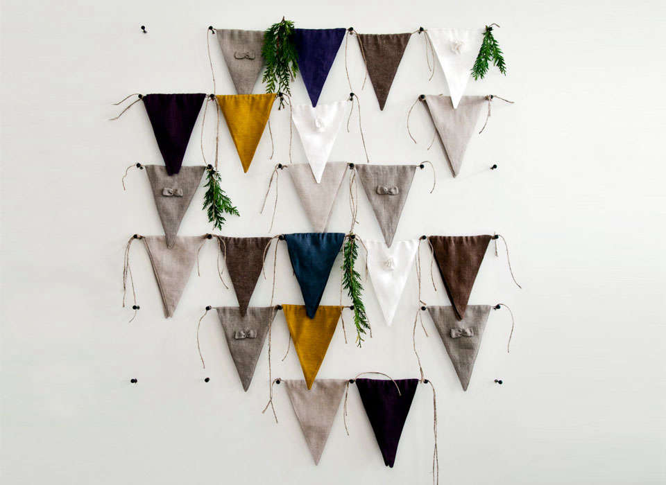 Lovely Home Ideas Fabric Bunting