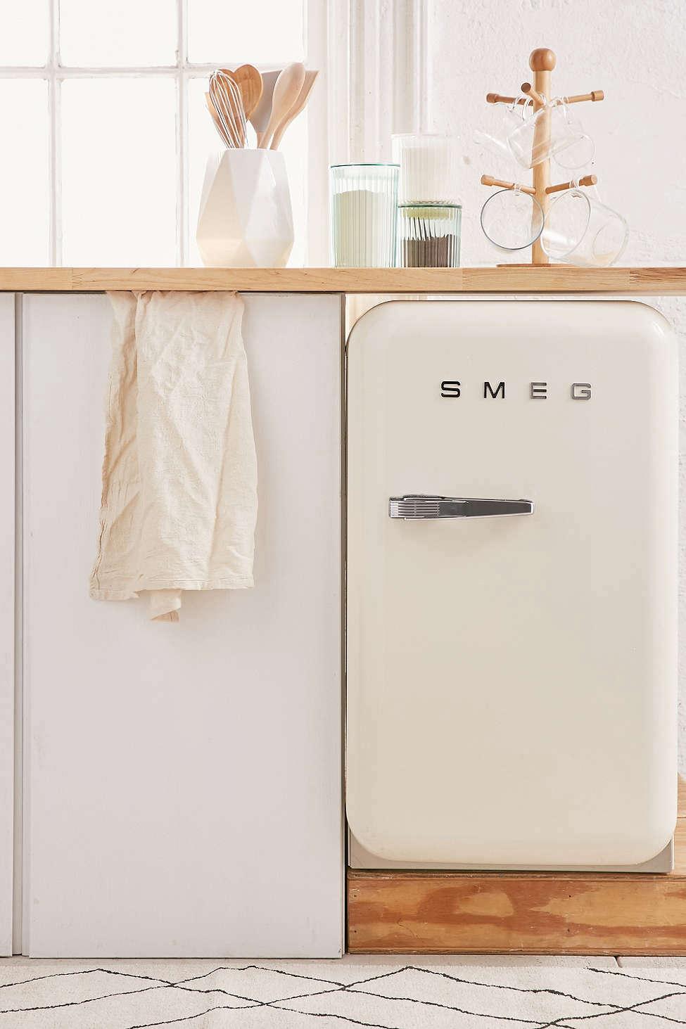 Mini Smeg Refrigerator Remodelista