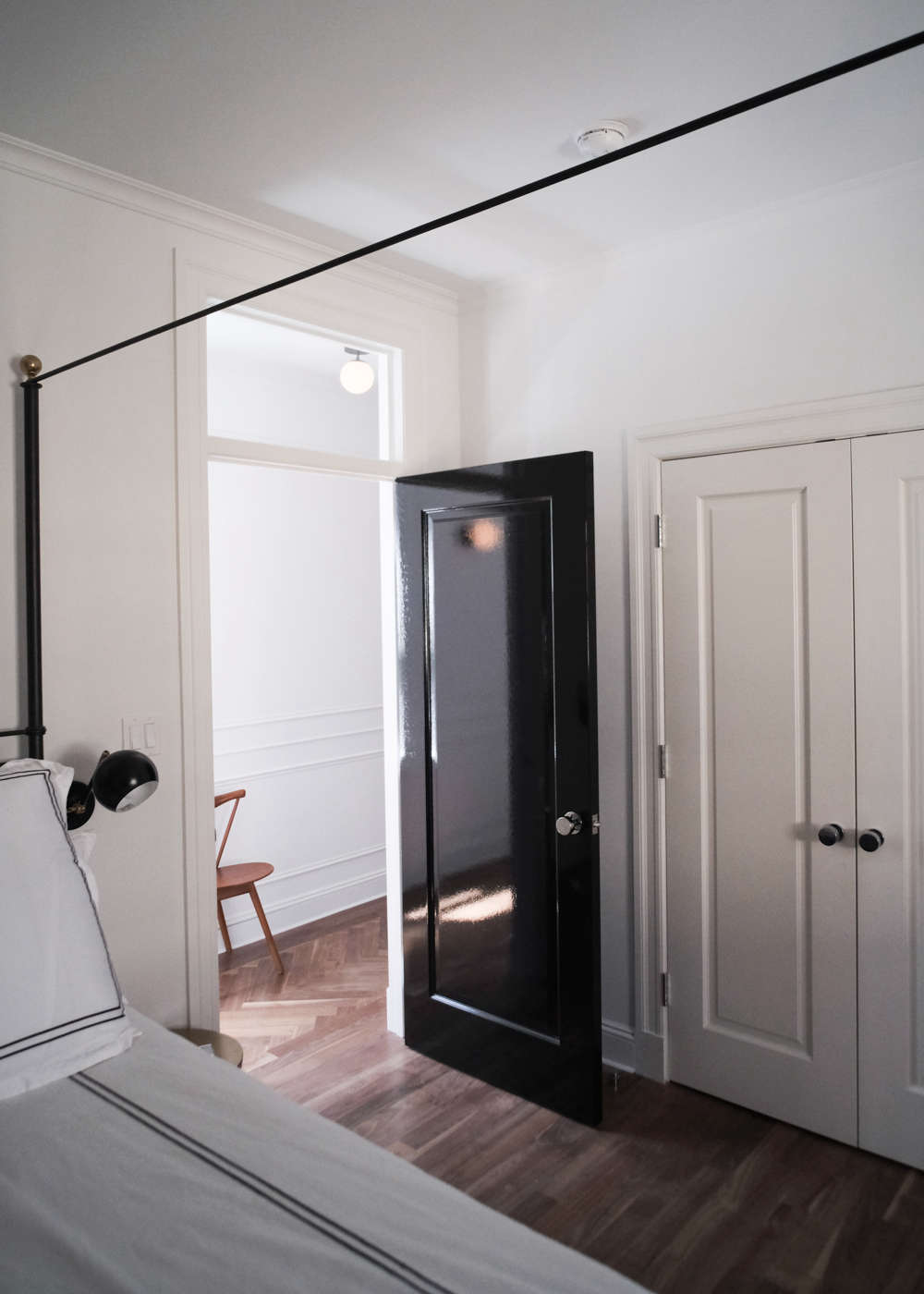 Brooklyn Remodeling Style Collection before & after: a period brooklyn heights penthouse gets an