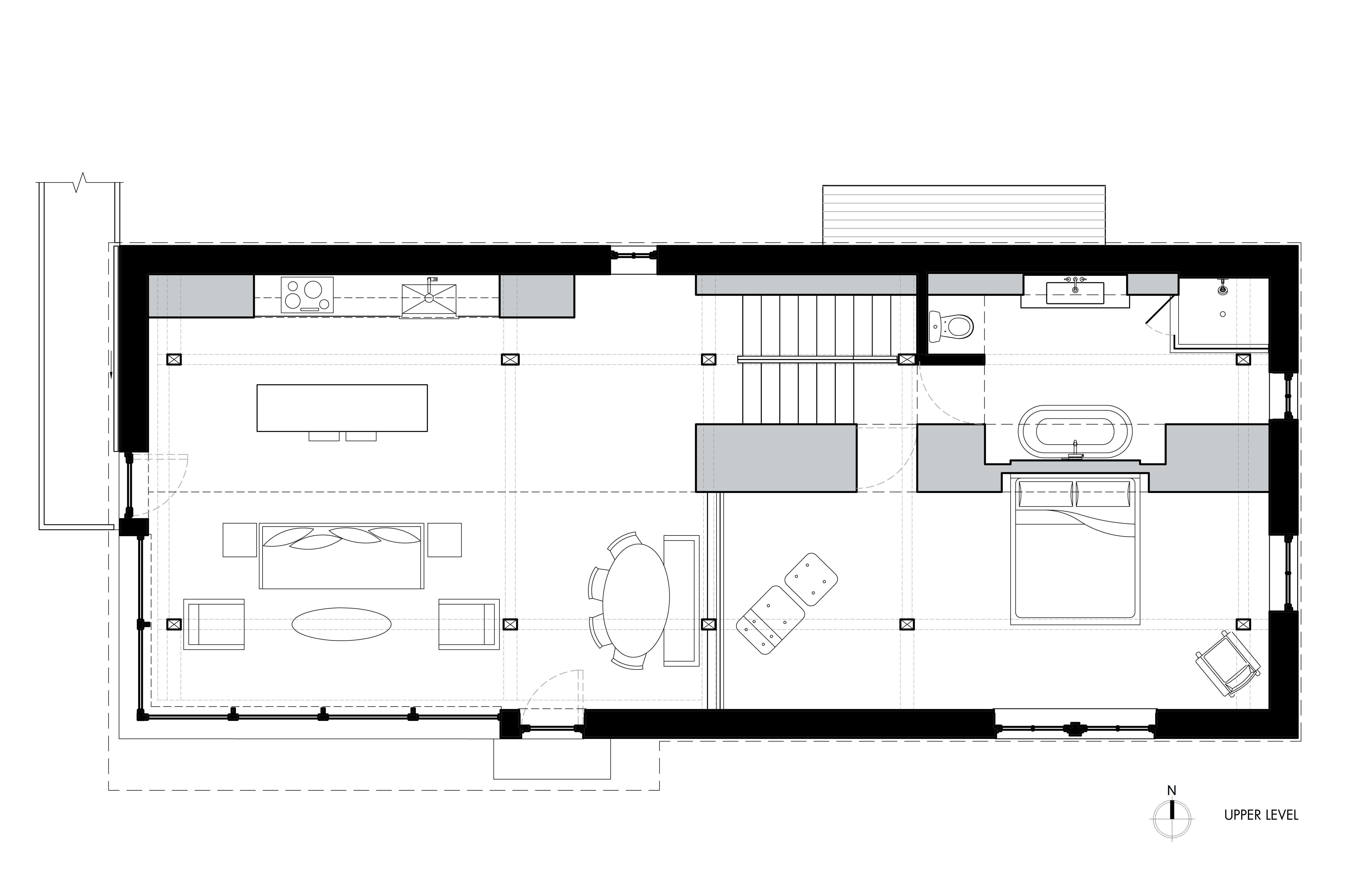 Upper Level Floor Plan Fox Hall By BarlisWedlick