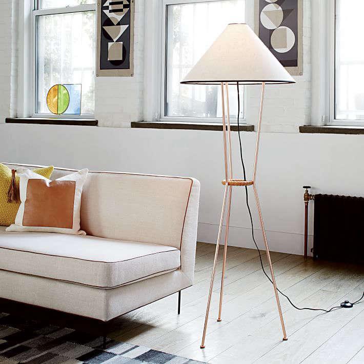 Commune tripod floor lamp aloadofball Gallery