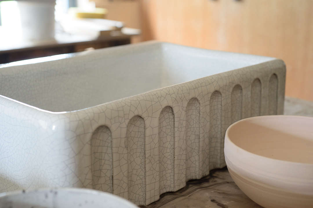 Handmade Ceramic Sinks for the Kitchen, New from Devol - Remodelista