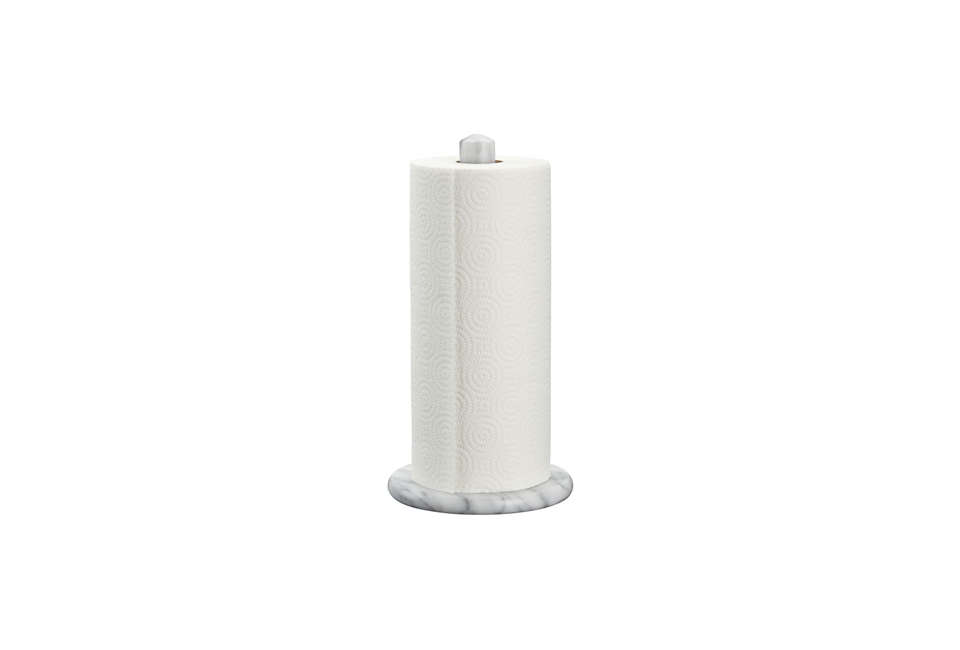 Crate Barrel French Kitchen Marble Paper Towel Holder