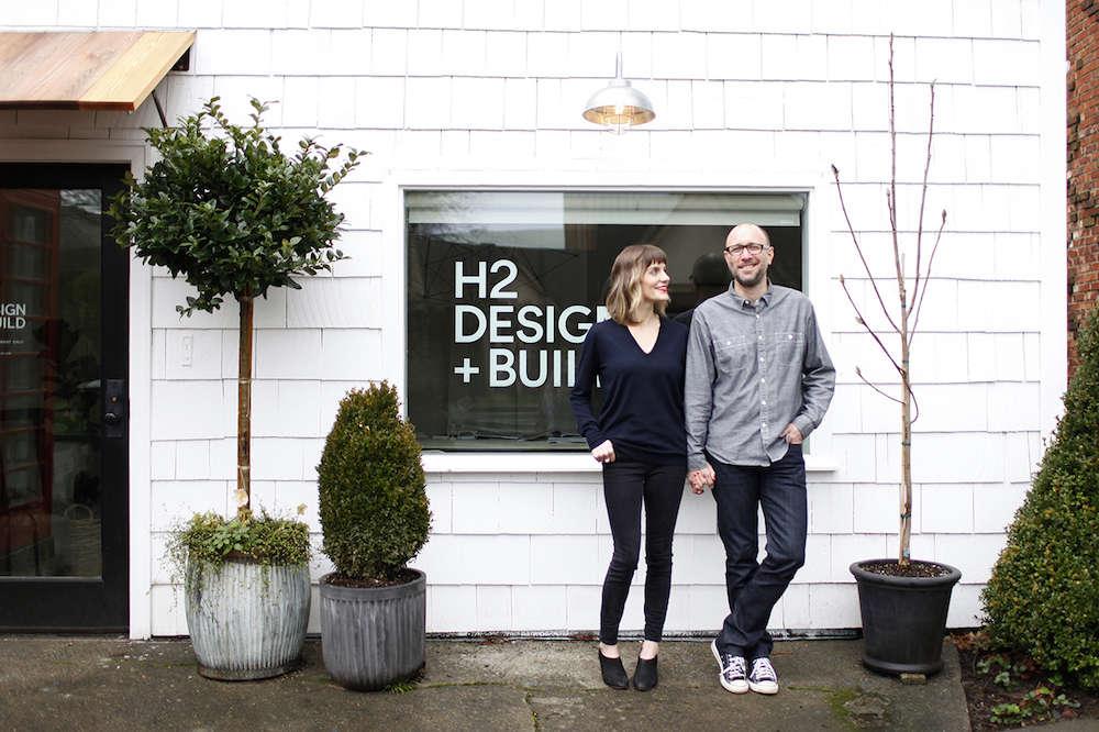 H2 Design + Build Office in Seattle   Remodelista