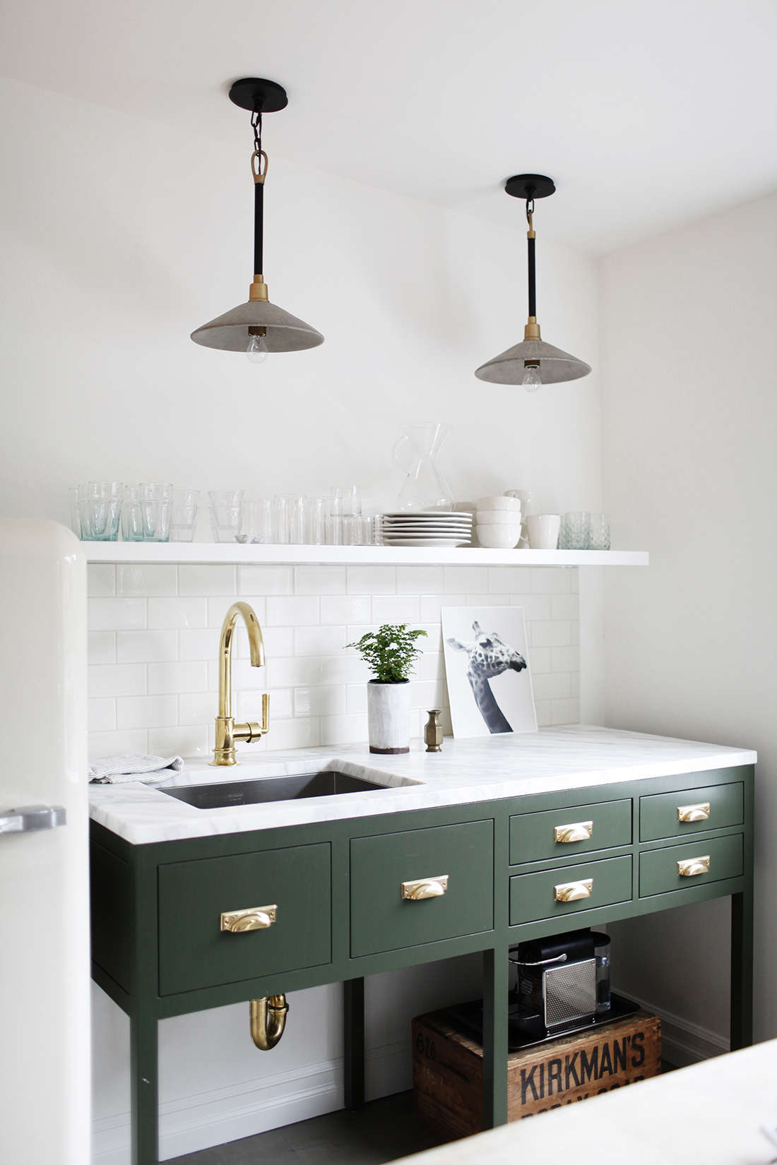 Kitchen of the Week: A Before & After Office Rental in Seattle ...