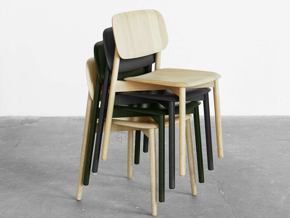 10 easy pieces stackable dining chairs remodelista