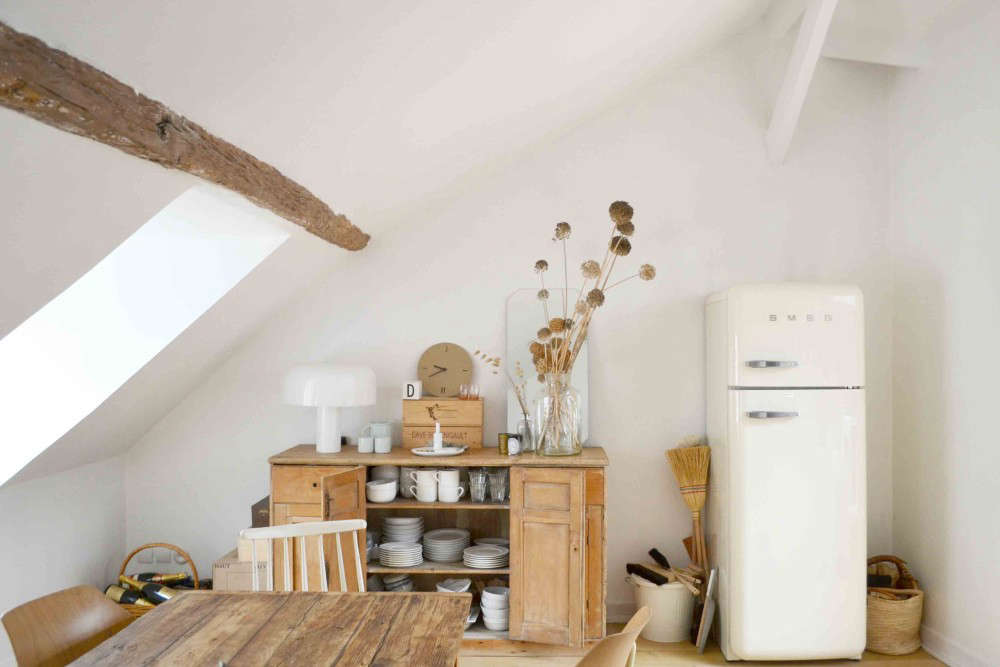 Steal This Look A Sunny Ikea Kitchen In The Marais Remodelista