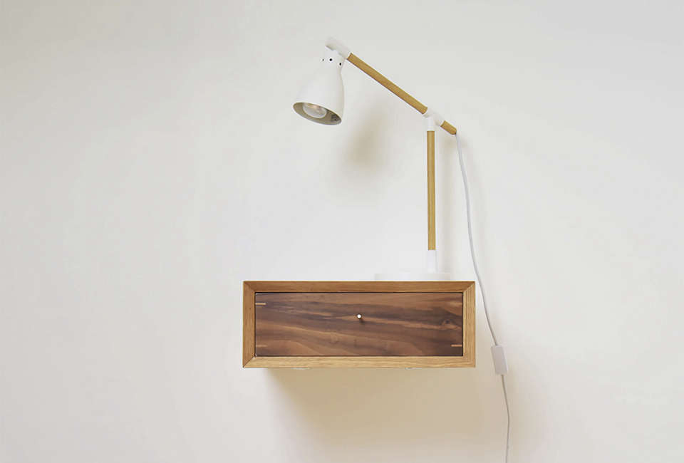 midcentury floating night stand remodelista