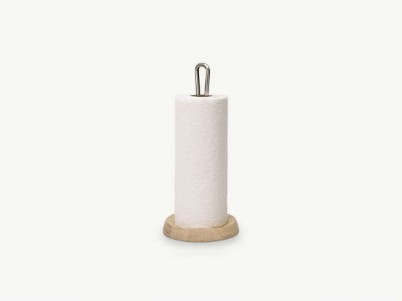 Skagerak Bollard Paper Towel Holder Oak