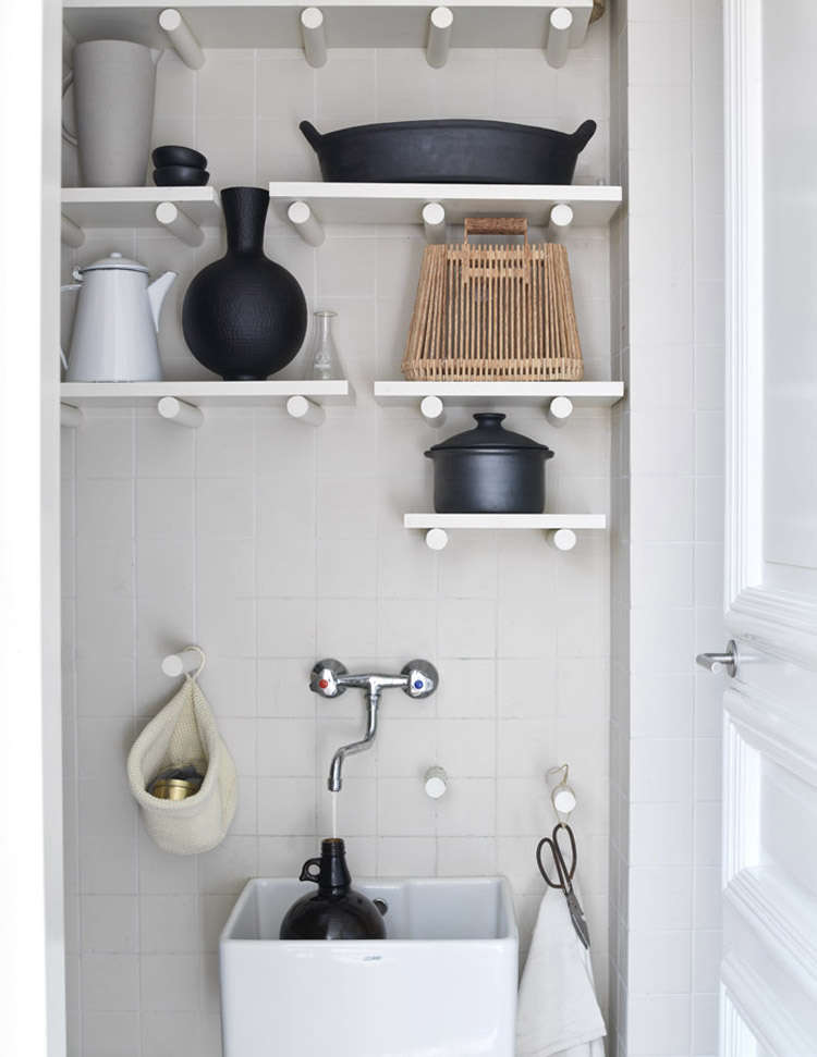 Utility Sink DIY Idea By Kim Timmerman