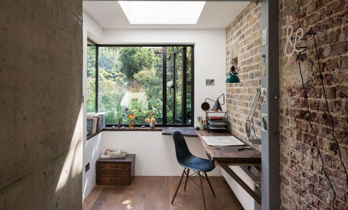Amazing A Light Filled Writing Studio plus Outdoor Shower for a London Author