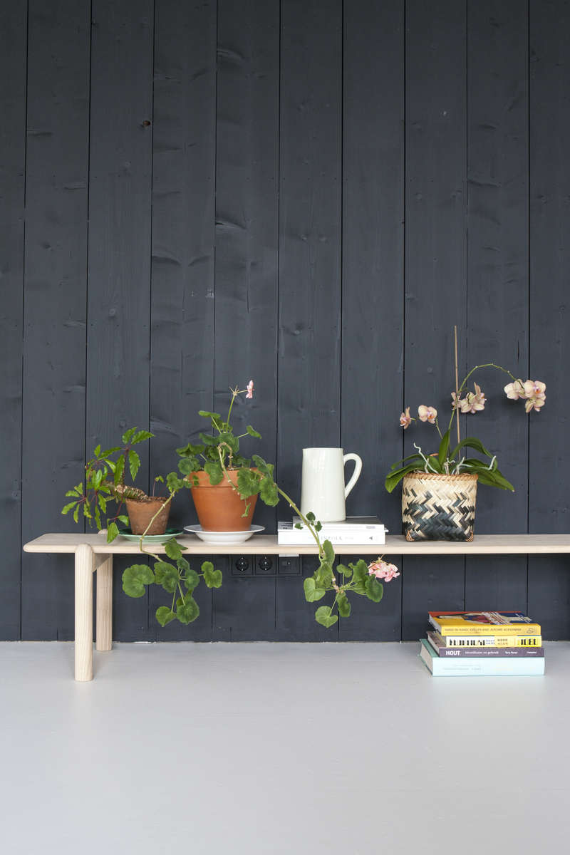 The working studio of Dutch interior designer Christen Starkenburg of Interieur-Plus at Jan de Jong, her family's design shop in Friesland, the Netherlands | Remodelista