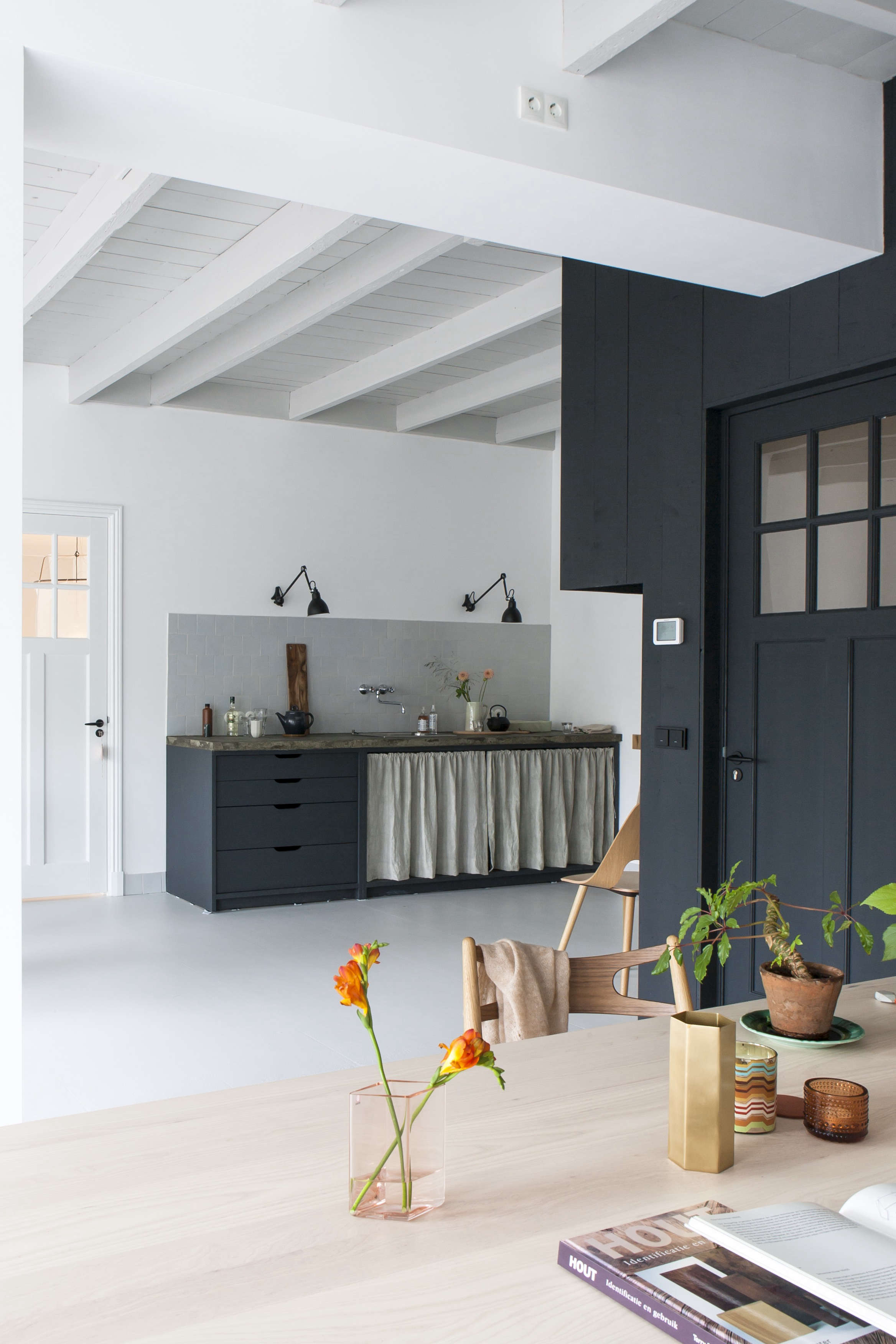 steal this look a rustic modern kitchen in the netherlands - Rustic Modern Kitchen
