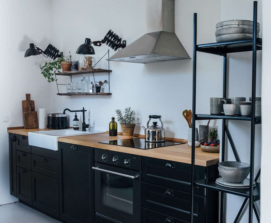 Kitchen cabinets eastern ct - Kitchen Of The Week A Diy Ikea Country Kitchen For Two Berlin Creatives