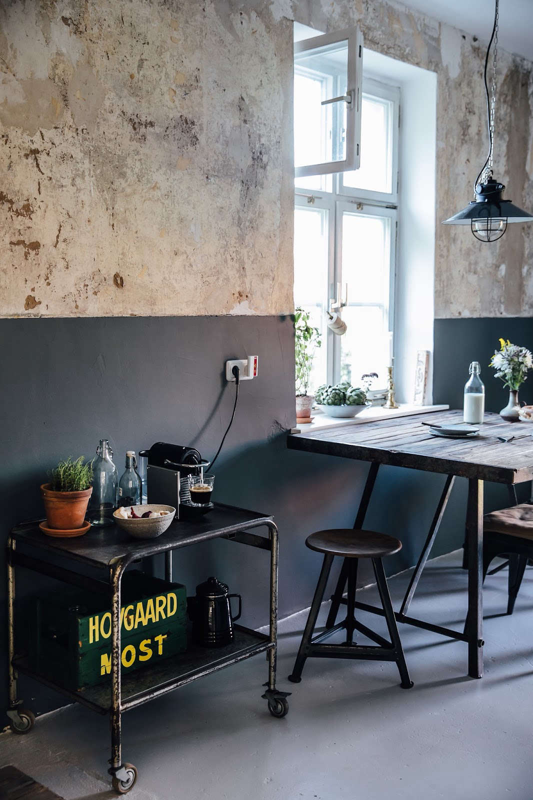 Kitchen of the Week: A DIY Ikea Country Kitchen for Two Berlin ...
