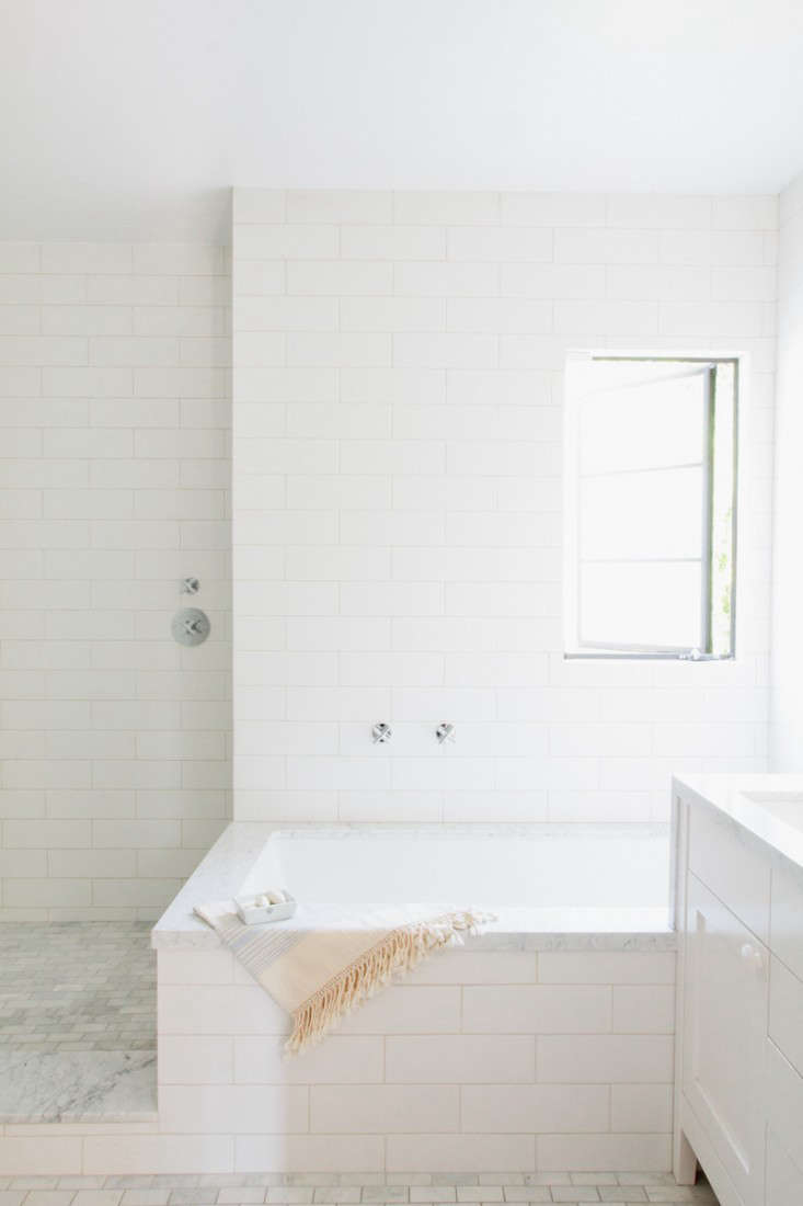 Photograph by Jessica Comingore for Remodelista, from Steal This Look: A Barbara Bestor-Designed Master Bath in LA.