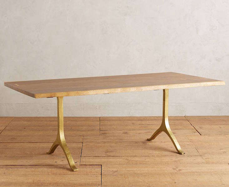 High Low The It Live Edge Trestle Table Remodelista