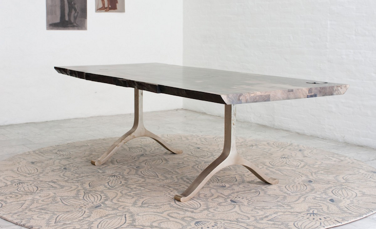 "High/Low: The ""It"" Live-Edge Trestle Table"