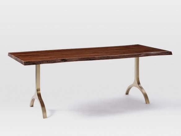 Cast Trestle Dining Table