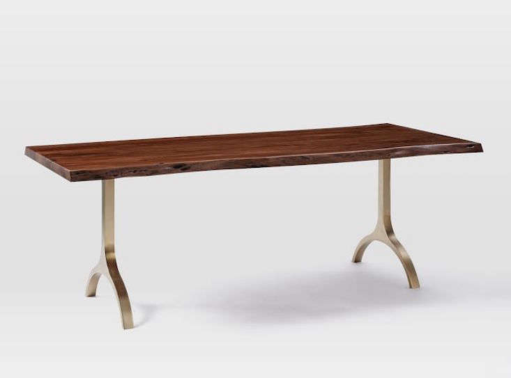 Fresh cast trestle dining table o