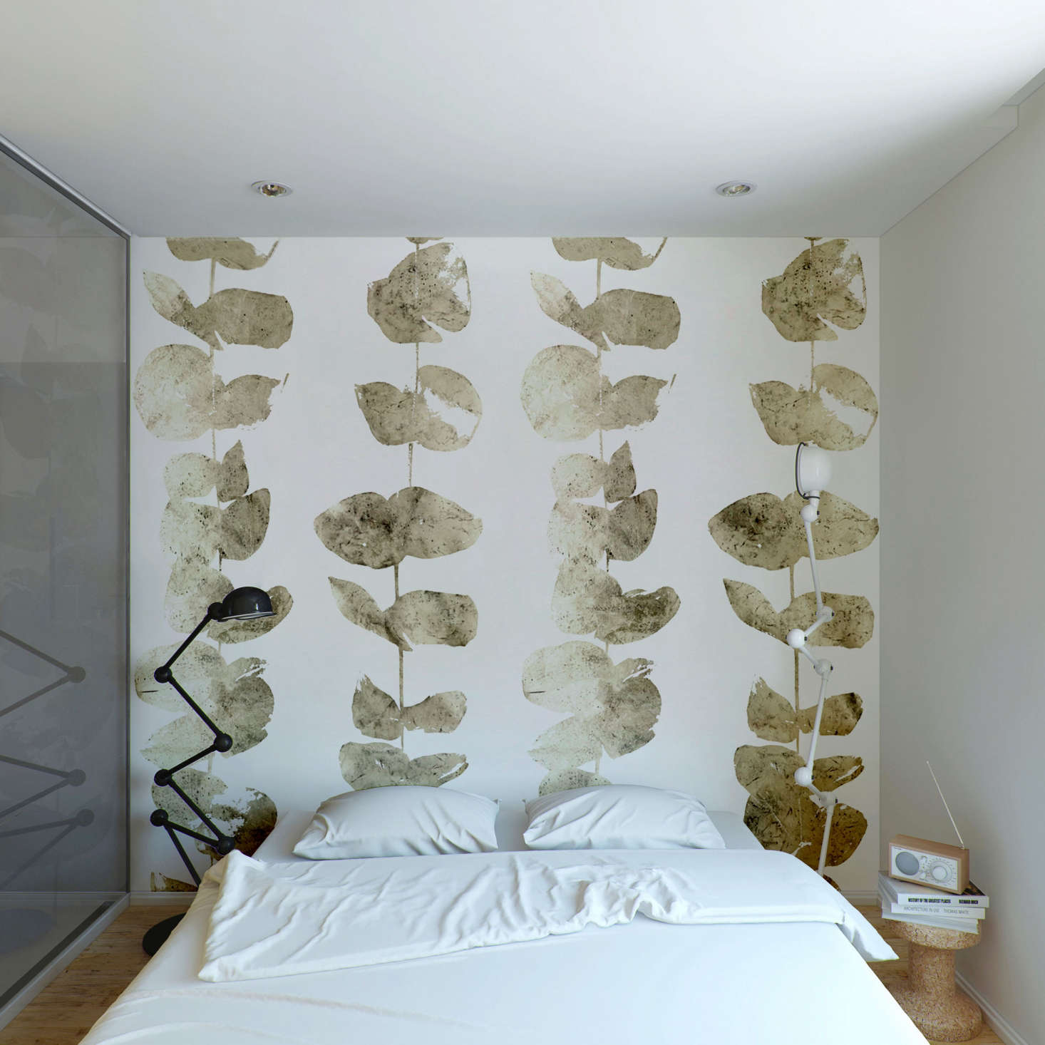 custhom columbia road wallpaper remodelista The Gilded Age Handmade Wallpaper from